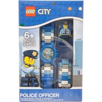 LEGO City Police Officer Figure Link Buildable Watch - Police Gifts