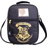 Harry Potter Double Pocket Lunch Bag (Black & Gold)
