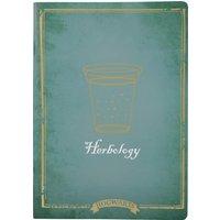 Harry Potter Herbology A5 Notebook - Harry Potter Gifts