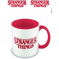 Stranger Things (Logo) Red Inner Colour Mug