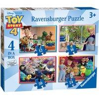 Ravensburger Disney Pixar Toy Story 4, 4 in a Box - Ravensburger Gifts