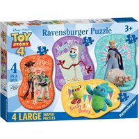 Ravensburger Disney Toy Story 4, 4 Large Puzzles - Puzzles Gifts