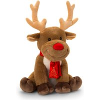 Keel Toys Reindeer with Scarf 25cm - Soft Toys Gifts