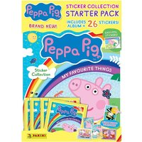 Peppa Pig My Favourite Things Sticker Starter Pack - Dolls Gifts