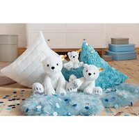 Steiff Soft Cuddly Friends Lasse Polar Bear (White)