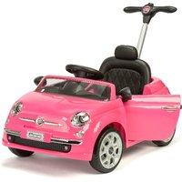 Fiat 500 Push/Ride On - Pink