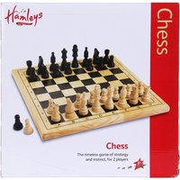 Hamleys Wooden Chess Set - Chess Gifts