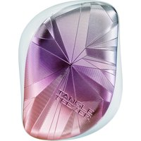 Tangle Teezer Compact Hairbrush Smashed Holo Pink - Dolls Gifts