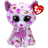 TY Cupid Cat Flippable Regular - Valentines