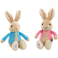 Peter Rabbit Peter & Flopsy Bean Rattles