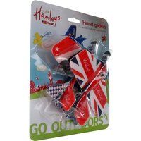 Click to view product details and reviews for Hamleys Union Jack Hand Gliders 2 Pack.