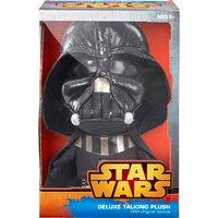 Star Wars  Deluxe Talking Darth Vader Soft Toy