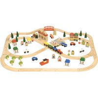 Bigjigs Rail Town & Country Train Set