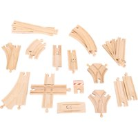 Bigjigs Rail Low Level Track Expansion Pack