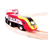 Bigjigs Rail Virgin Pendolino - Hamleys Gifts