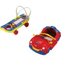 The Happy's Ride On Accessories Car & Skateboard Assortment - Skateboard Gifts