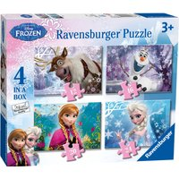 Ravensburger Disney Frozen 4-In-A-Box Puzzles