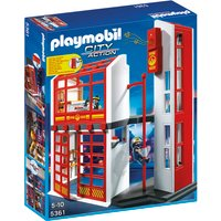 Playmobil Fire Station With Alarm 5361 - Playmobil Gifts