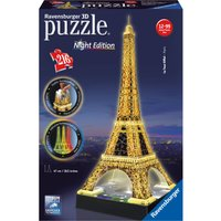 Ravensburger Eiffel Tower Night Edition 216 Piece 3D Puzzle - Ravensburger Gifts