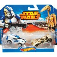 Hot Wheels Star Wars Character Car 2-Pack Assortment