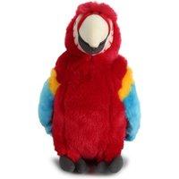 Hamleys Poppy Red Parrot Soft Toy