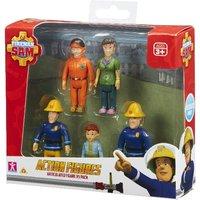 Fireman Sam Five Figure Assortment Pack - Fireman Sam Gifts