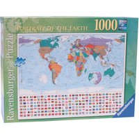 Ravensburger Portrait Of The Earth 1000 Piece Puzzle - Ravensburger Gifts