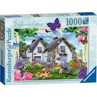 Ravensburger Country Cottage Delphinium Cottage 1000 Piece Puzzle - Ravensburger Gifts