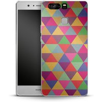 Huawei P9 Silikon Handyhülle - In Love With Triangles von Bianca Green
