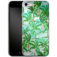 Apple iPhone 6s Silikon Handyhülle - Palm Tree Green von Amy Sia