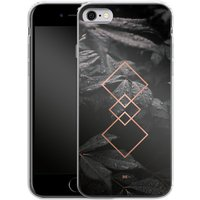 Apple iPhone 6s Silikon Handyhülle - Gothic Pattern von #basic