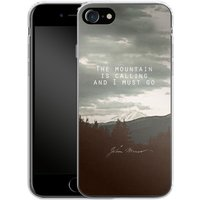 Apple iPhone 7 Silikon Handyhülle - The Mountain Is Calling von Leah Flores