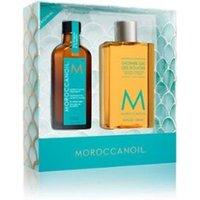 Moroccanoil Home & Away Set Original - Limited Edition haarverzorgingsset