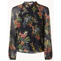 MANGO Stelle semi-transparante blouse met bloemenprint