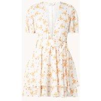 NA-KD Mini jurk met bloemenprint en strikceintuur