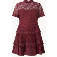 Forever New Rochelle mini jurk met kant en geplisseerd detail