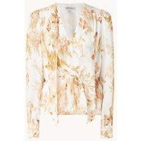 Forever New Fleur blouse met bloemenprint en strikkraag