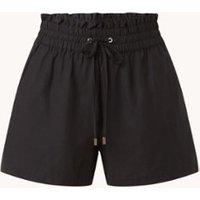 Forever New Lily high waist loose fit korte broek in lyocellblend