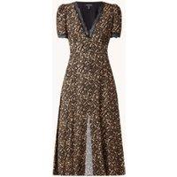 Forever New Kimmy midi jurk met kant en strikceintuur