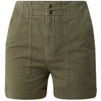 Maje Dole utility high waist korte broek met steekzakken