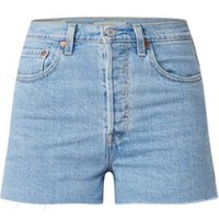 Levi's Levi's Ribcage high waist slim fit shorts met ripped details