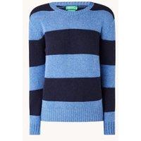 Benetton Fijngebreide pullover van wol