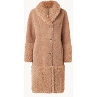 Beaumont Reversible lammy mantel met steekzakken
