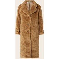Beaumont Oversized teddy mantel met steekzakken