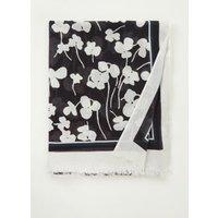 Marc O'Polo Sjaal met bloemenprint 180 x 90 cm