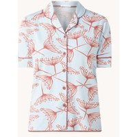 Mey Amalie pyjamatop met bloemenprint