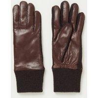 Hestra Jeanne handschoenen met lamsleren details