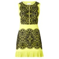 Damsel in a Dress Lanna Lace Dress Chartreuse 08