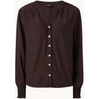 OPUS Frolli blouse met pofmouw