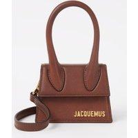 Jacquemus Le Chiquito mini handtas van leer met logo